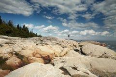 Απότομος βράχος Καναδός Στοκ Φωτογραφία