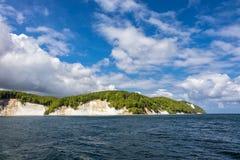 Απότομος βράχος κιμωλίας Στοκ φωτογραφίες με δικαίωμα ελεύθερης χρήσης