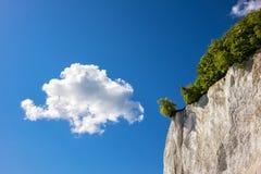 Απότομος βράχος κιμωλίας Στοκ φωτογραφία με δικαίωμα ελεύθερης χρήσης
