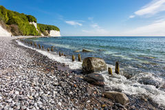 Απότομος βράχος κιμωλίας Στοκ εικόνα με δικαίωμα ελεύθερης χρήσης