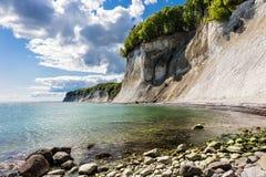 Απότομος βράχος κιμωλίας στοκ εικόνες με δικαίωμα ελεύθερης χρήσης