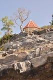 απότομος βράχος, περίπτερο, νησί Srichang, ανατολικά Ταϊλάνδη Στοκ Εικόνες
