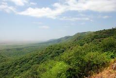 απότομος βράχος πράσινος στοκ εικόνα με δικαίωμα ελεύθερης χρήσης