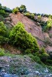 Απότομος απότομος βράχος προσώπου βράχου - φυσικό τοπίο της χώρας Τουρκία Στοκ φωτογραφίες με δικαίωμα ελεύθερης χρήσης