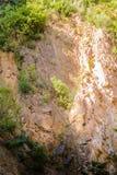 Απότομος απότομος βράχος προσώπου βράχου - φυσικό τοπίο της χώρας Τουρκία Στοκ εικόνες με δικαίωμα ελεύθερης χρήσης