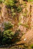 Απότομος απότομος βράχος προσώπου βράχου - φυσικό τοπίο της χώρας Τουρκία Στοκ Εικόνες