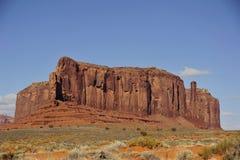 Απότομος βράχος ψαμμίτη στοκ εικόνες