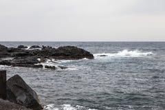 Απότομος βράχος Acireale Στοκ εικόνα με δικαίωμα ελεύθερης χρήσης