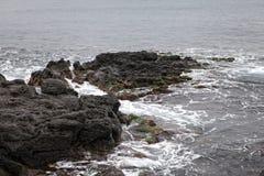Απότομος βράχος Acireale Στοκ εικόνες με δικαίωμα ελεύθερης χρήσης
