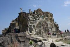 Απότομος βράχος Breksi Breksi Tebing Στοκ Εικόνες