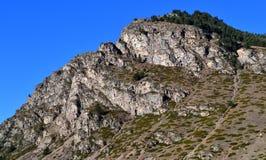 Απότομος βράχος Elbrus βουνών Στοκ φωτογραφία με δικαίωμα ελεύθερης χρήσης