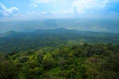 Απότομος βράχος Lom Sak τοπίων στοκ εικόνα