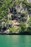 Απότομος βράχος Railay κοντά στο AO Nang, Krabi Ταϊλάνδη στοκ φωτογραφία με δικαίωμα ελεύθερης χρήσης