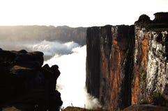 Απότομος βράχος Roraima - Βενεζουέλα Στοκ Φωτογραφίες