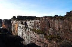 Απότομος βράχος Roraima - Βενεζουέλα Στοκ Εικόνες