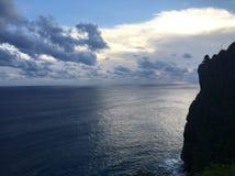 Απότομος βράχος Uluwatu Στοκ Φωτογραφίες