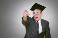 Απόφοιτος φοιτητής στοκ εικόνα με δικαίωμα ελεύθερης χρήσης