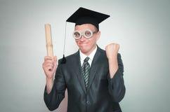 Απόφοιτος φοιτητής στοκ εικόνες με δικαίωμα ελεύθερης χρήσης