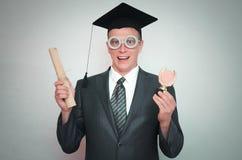Απόφοιτος φοιτητής στοκ φωτογραφία με δικαίωμα ελεύθερης χρήσης