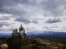 Απόψεις από Santuario de Nuestra Señora de Araceli Lucena, Ισπανία στοκ εικόνες με δικαίωμα ελεύθερης χρήσης