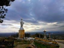 Απόψεις από Santuario de Nuestra Señora de Araceli Lucena, Ισπανία στοκ εικόνες