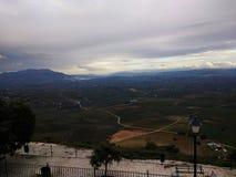 Απόψεις από Santuario de Nuestra Señora de Araceli Lucena, Ισπανία στοκ εικόνα