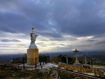 Απόψεις από Santuario de Nuestra Señora de Araceli Lucena, Ισπανία στοκ φωτογραφίες με δικαίωμα ελεύθερης χρήσης