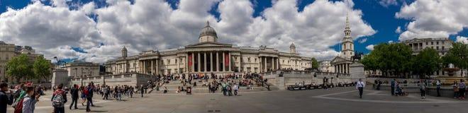 Απόψεις γύρω από την πλατεία του Λονδίνου - Traflagar Στοκ Φωτογραφία