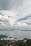 Απόψεις θάλασσας Στοκ Φωτογραφία