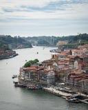 Απόψεις ποταμών Duoro από την κορυφή Στοκ Φωτογραφίες