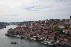 Απόψεις ποταμών Duoro από την κορυφή Στοκ Εικόνες