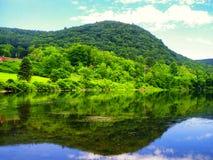 Απόψεις ποταμών Housatonic στοκ εικόνες