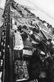 Απόψεις πόλεων Dnipropetrovsk από την κορυφή Στοκ Φωτογραφίες