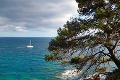 Απόψεις στη θάλασσα Στοκ εικόνα με δικαίωμα ελεύθερης χρήσης
