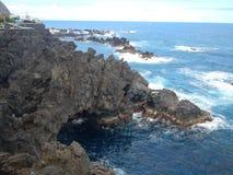 Απόψεις της ατλαντικής ακτής στοκ φωτογραφία