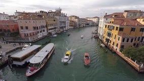 Απόψεις της Βενετίας από το copter απόθεμα βίντεο
