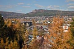 Απόψεις της γέφυρας και της περιοχής Στοκ Εικόνες