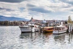Απόψεις της Γενεύης στις 11 Απριλίου 2015 Στοκ φωτογραφίες με δικαίωμα ελεύθερης χρήσης