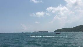 απόψεις της θάλασσας από τη βάρκα φιλμ μικρού μήκους