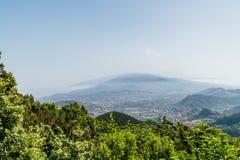 Απόψεις της Νίκαιας κατά μήκος της κίνησης στα TF-134 Tenerife Στοκ εικόνες με δικαίωμα ελεύθερης χρήσης