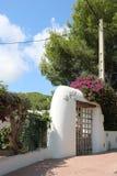 Απόψεις της Νίκαιας Ibiza Άγιος Antoni Στοκ Εικόνες