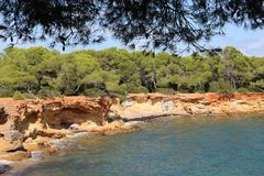 Απόψεις της Νίκαιας Ibiza Άγιος Antoni Στοκ φωτογραφία με δικαίωμα ελεύθερης χρήσης