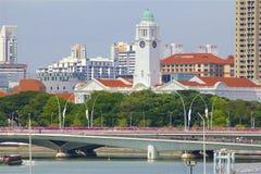 Απόψεις της Σιγκαπούρης, Ασία στοκ φωτογραφία