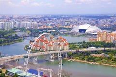 Απόψεις της Σιγκαπούρης, Ασία στοκ φωτογραφία με δικαίωμα ελεύθερης χρήσης