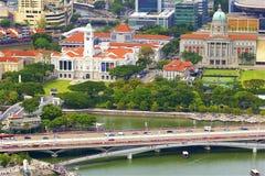 Απόψεις της Σιγκαπούρης, Ασία στοκ εικόνες με δικαίωμα ελεύθερης χρήσης