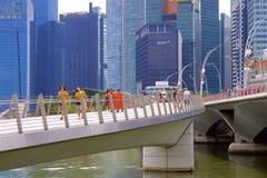 Απόψεις της Σιγκαπούρης, Ασία στοκ εικόνα