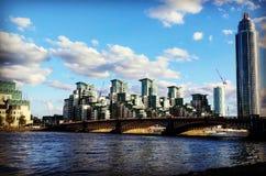 Απόψεις του Λονδίνου Στοκ φωτογραφία με δικαίωμα ελεύθερης χρήσης