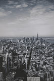 Απόψεις του Μανχάταν από το Εmpire State Building Στοκ φωτογραφία με δικαίωμα ελεύθερης χρήσης