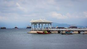 Απόψεις του νησιού λιμενικού Si -Si-chang Στοκ εικόνες με δικαίωμα ελεύθερης χρήσης