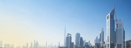 Απόψεις του Ντουμπάι Στοκ Εικόνες